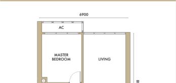 agile-bukit-bintang-type-a-2-bedroom-layout-plan